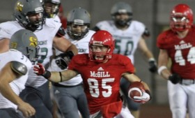 McGill Football Home Opener