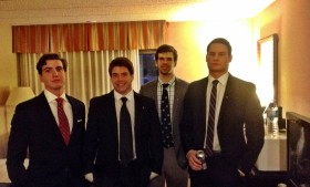 Alpha Psi visits 8 chapters